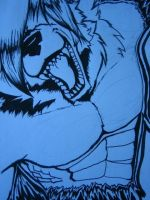 some traditional inking by Galvin-wolf