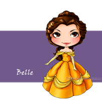 Belle by sky-illuminated