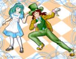 Alice and Mad Hatter by Reenave