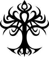 Tree of life tribal. by Odari