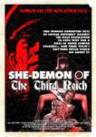 She-Demon Of The Third Reich Poster by MrAngryDog
