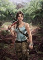 Tomb Raider Lara Croft by irvintustin