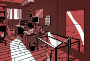 Room Practice (Paolo's Room) by lacrimode