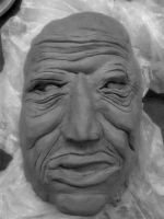 OLD MAN BLACK AND WHITE by CorazondeDios