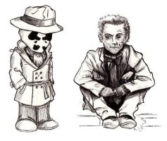 Rorschach and Kovacs by snoday