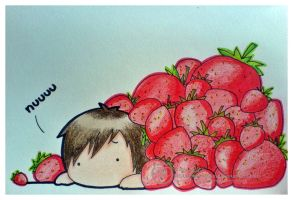 Strawberry Avalanche. by Susutastic
