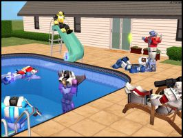Transformers sims - group by kichigai