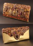 Legend - Embroidered Clutch Bag by Callista1981