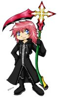 Chibi Marluxia by sefie-ireth