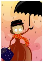 Mary Poppins by ysellyra