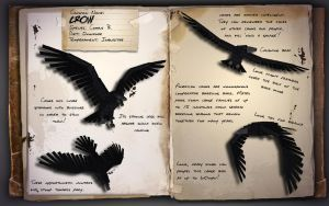 EcoCraft Journal Entry // American Crow by EcoCraftMod