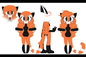 Paws The Red Panda Adoptable (CLOSED) by XxMilk-lovexX
