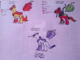 Crition the original new Bio by MagicPhoenixstonedra