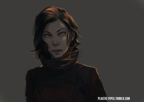 Asami sketch by plastic-pipes