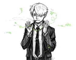 mushishi - suit up by MadH