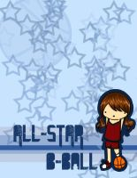 ALL STAR:notebook design cover by t0m0y04evr