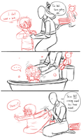 Bath for Sam by Kiki-Hyuga