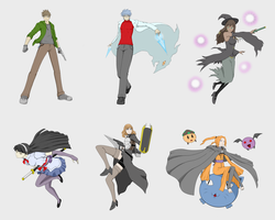 Battle Phantasm Characters Set 1 by MonkeyTheMan