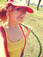 Hula Hoop Misty by BunnyRue