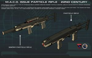 MACO Particle Rifle [22nd Century] Tech Readout by unusualsuspex