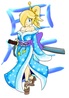 Rosalina the Samurai by Xero-J