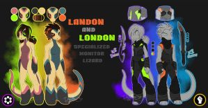 Landon and London 2014 by Noxivaga