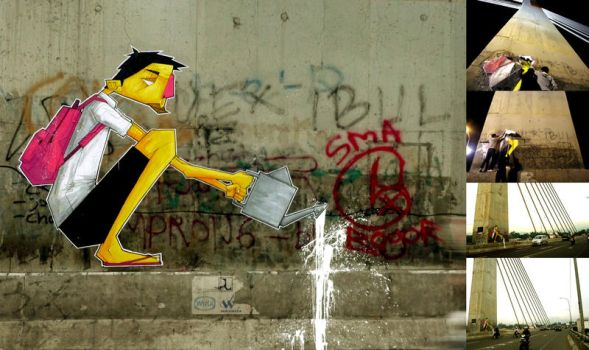 Let Street Art Grow by stereoflow