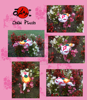 Okami chibi plush FOR SALE by Ishtar-Creations