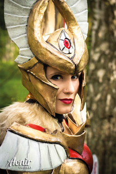 Legion Commander Cosplay Dota 2 by Ao-nir