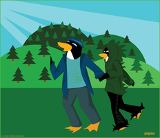 Going on an Adventure by pinguino