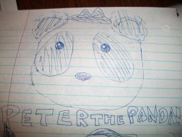 Peter The Panda by RosieMe