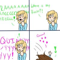 Faberry comic by dashyice