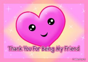 Thanks for being my friend by spring-sky
