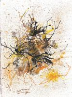 Sketchbk. p.10-Abstract Inks (2005) by La-Nora