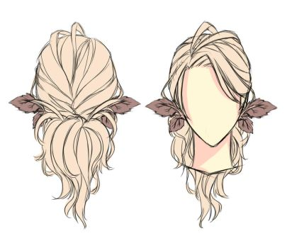 Viltex's Hair reference by EDDY-Melodia