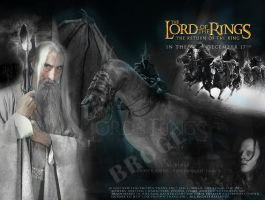 lord of the rings 2 by ahmetbroge