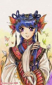 Chinese Princess by pencilkiller
