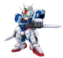 Impulse Gundam by haganef