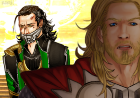 Thor - I don't need you to defend me by karaii