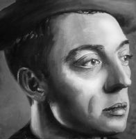 Buster Keaton by cfigat