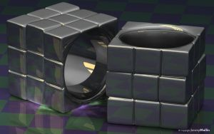 Rubik Ring by JeremyMallin