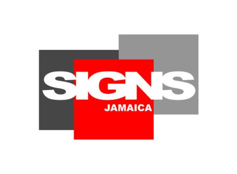 SIGNS Jamaica logo concept by KingstonGraphics