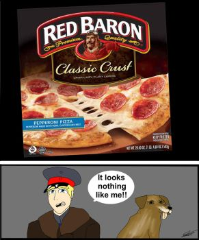 Red Baron Pizza? by C-E-Smith