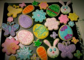 Easter Delectables by tini