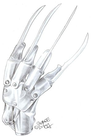 yet strongly reinforced glove that's located upon Saisuu's right hand