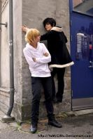 Izaya you're crazy by ShadowFox-Cosplay