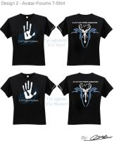 Avatar Forums T-Shirt Design 2 by ComplxDesign