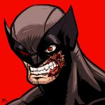 War-face Wednesday: Wolverine by AndrewKwan