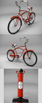 Old-style bicycle by p4vv37