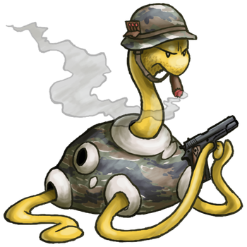 Army Shuckle by RacieB
